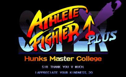 SUPER ATHLETE FIGHTER X'Plusタイトル